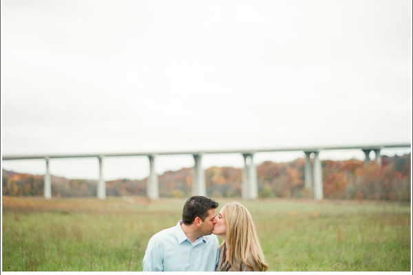 Vanessa & Ryan - Wild Weather Engagement Session in Cleveland