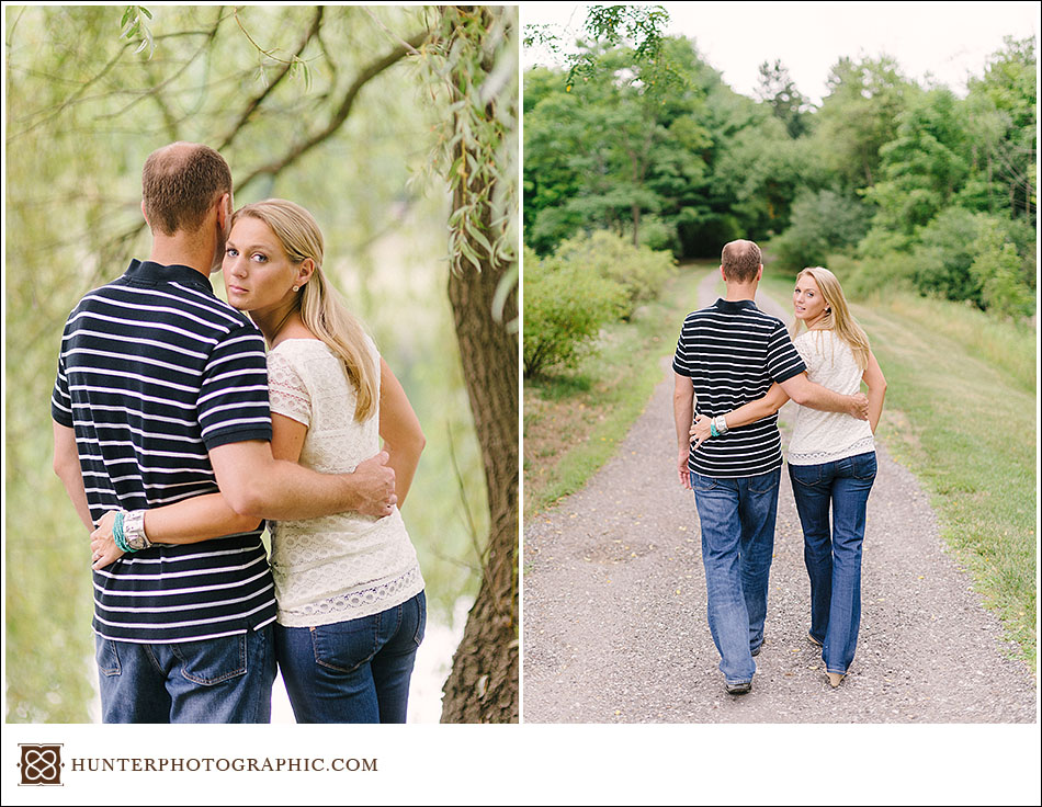 Katie and Matt's engagement session at Craighead Farm in Novelty, Ohio