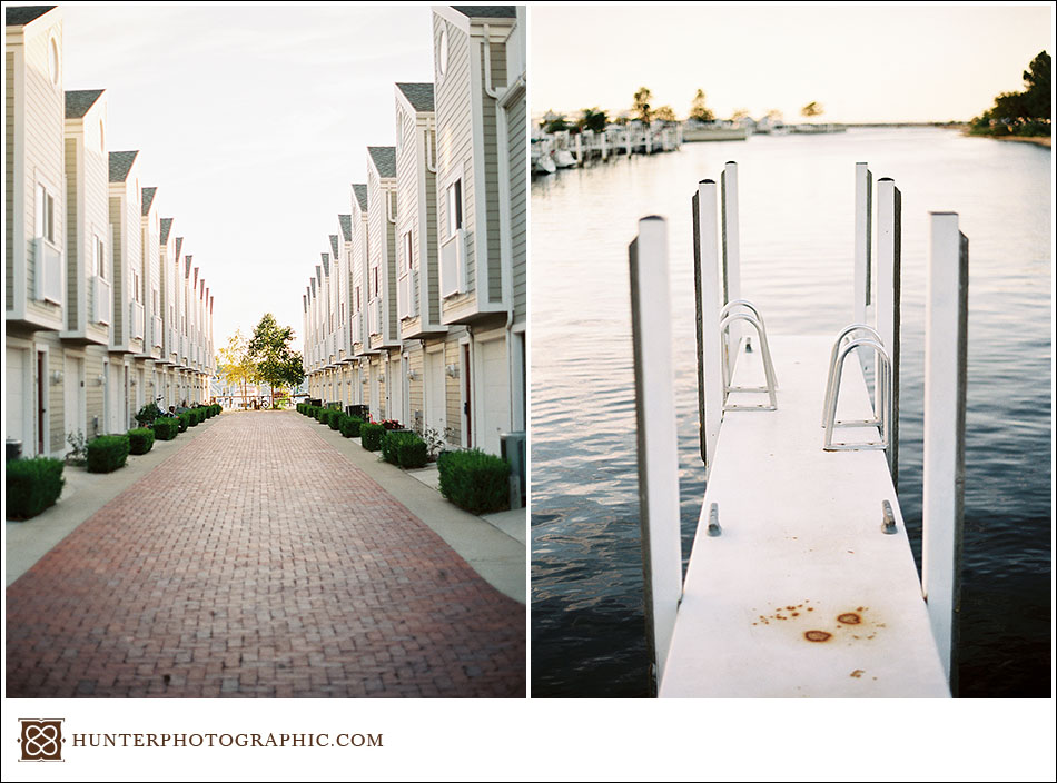 New Buffalo, Michigan captured on film for Kristin and Max' destination engagement session.