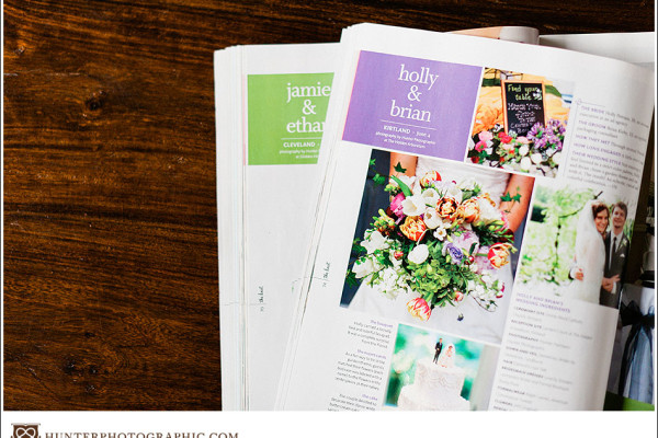 Published - The Knot Magazine - Holly & Brian