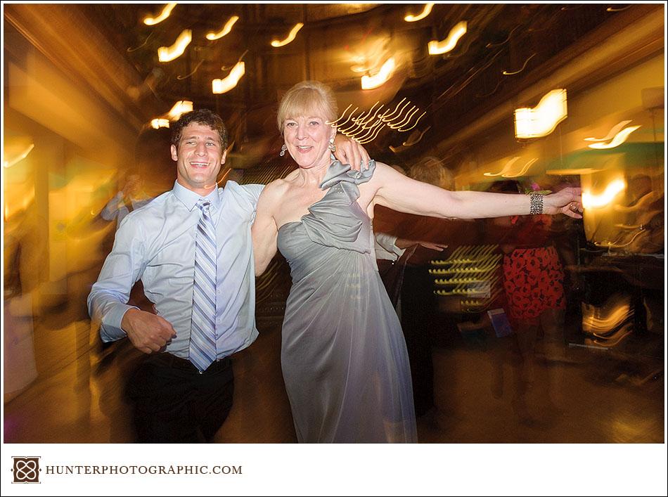 Joanna and David's Hyatt Arcade wedding in downtown Cleveland