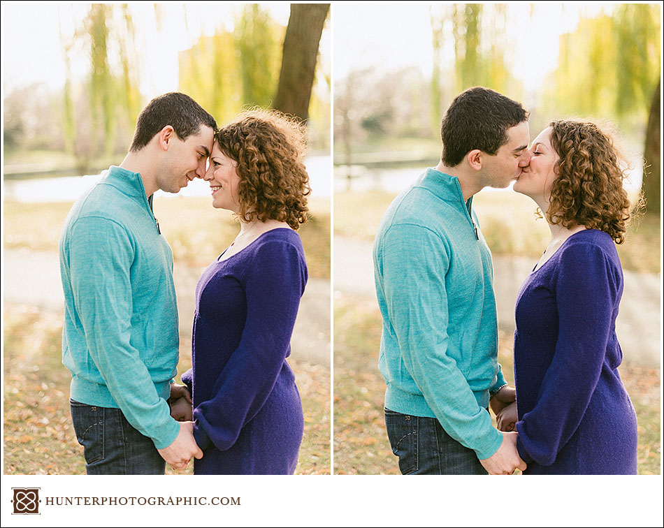 Joanna and David - Sunny Thanksgiving Engagement Photos