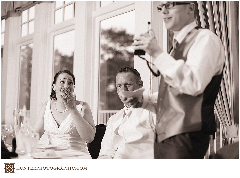 Jodie & James' Rocky River wedding at Westwood Country Club
