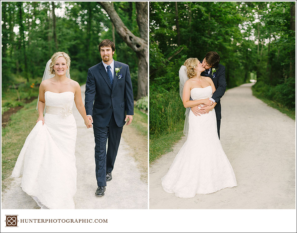 Kate and Jonah's Vintage-Inspired Wedding at Walsh University in North Canton
