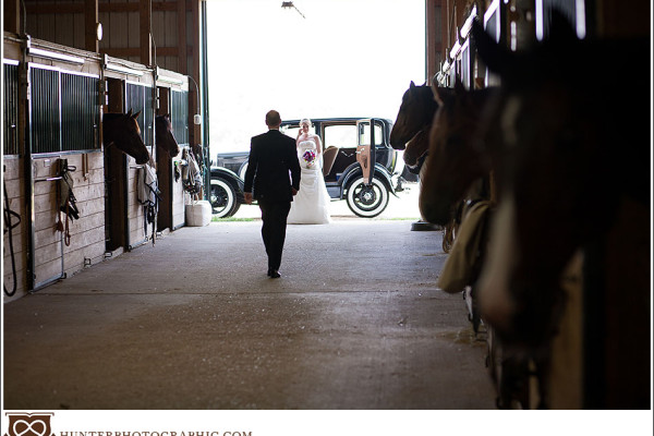 Katie & Jerry - Horses and Horsepower Wedding in Fairfield