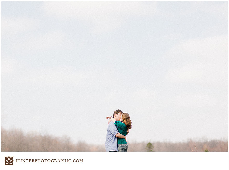 Kelsey and Zac - Sunny Spring Engagement Photos on the Farm