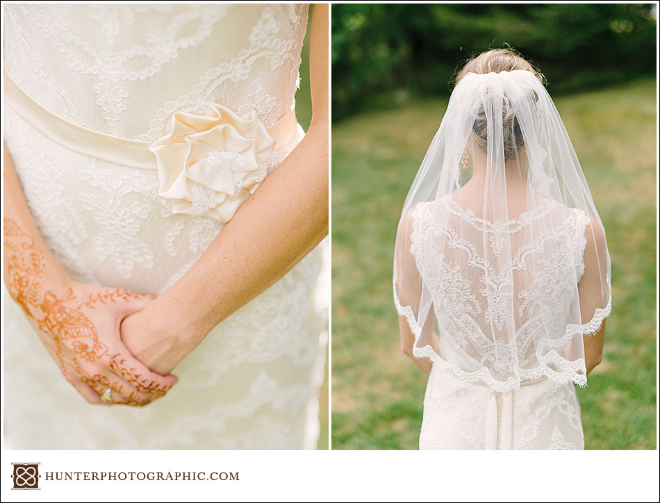 Details from Laura & John's epic Egyptian wedding in downtown Cleveland