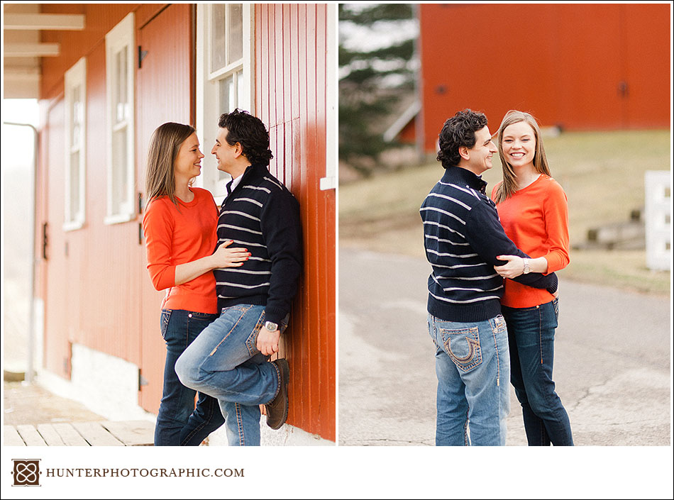 Laura & John - Cleveland Winter Engagement and Chances