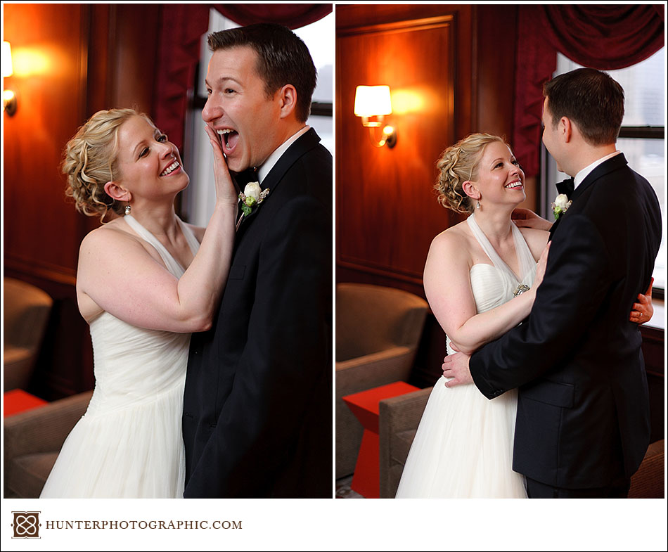 Molly and Dave - a Cleveland Valentines wedding
