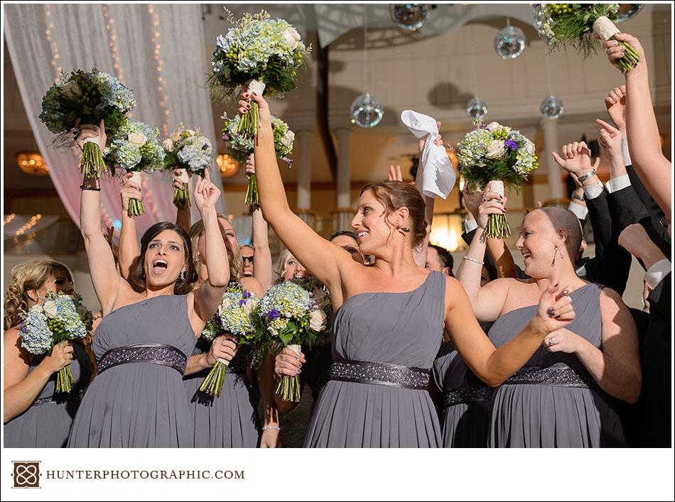 Sarah & Mike - A Winter Wonderland Wedding at the Cleveland Renaissance