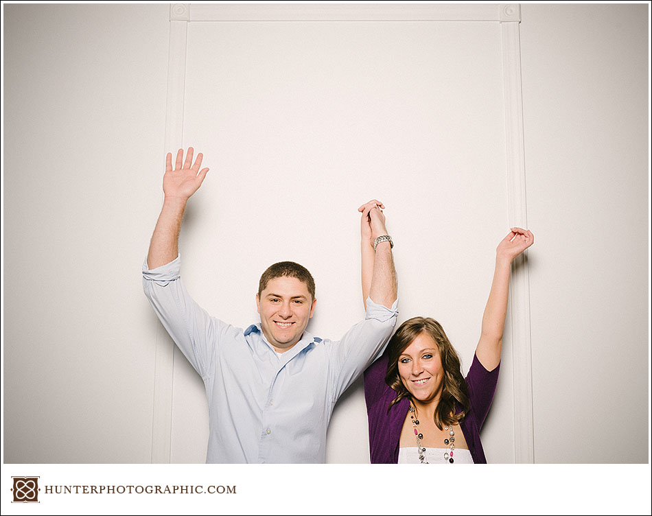 Sheila and Beau's hot summer engagement in downtown Cleveland