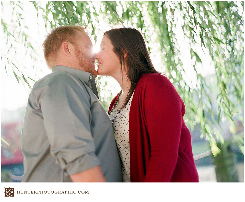 Torri Mimms and Lucas Yousko engagement session
