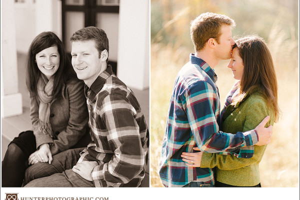 Tricia & Todd - Engagement Session at the Height of Autumn