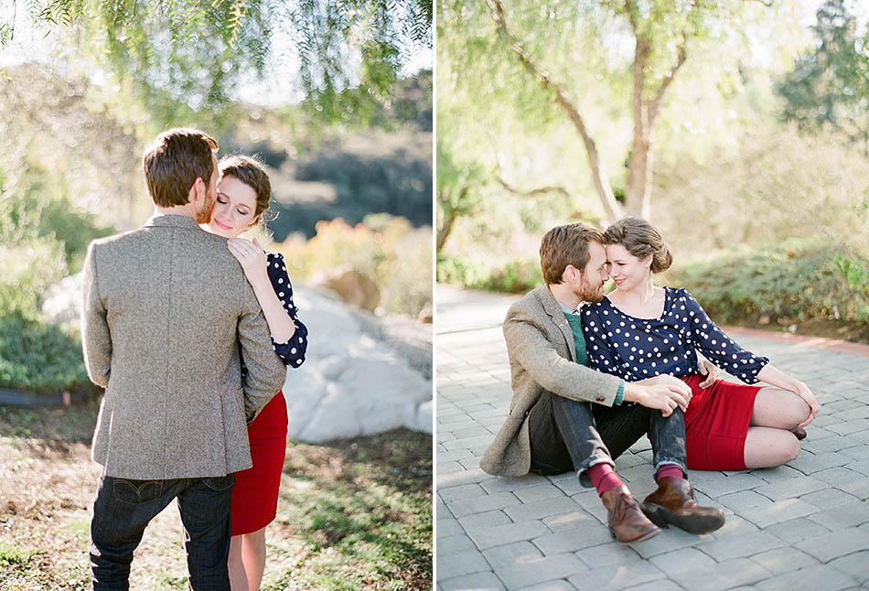 Propel styled valentines engagement session