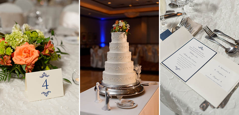 Summer Cleveland wedding at Embassy Suites Independence with Katie and Matt